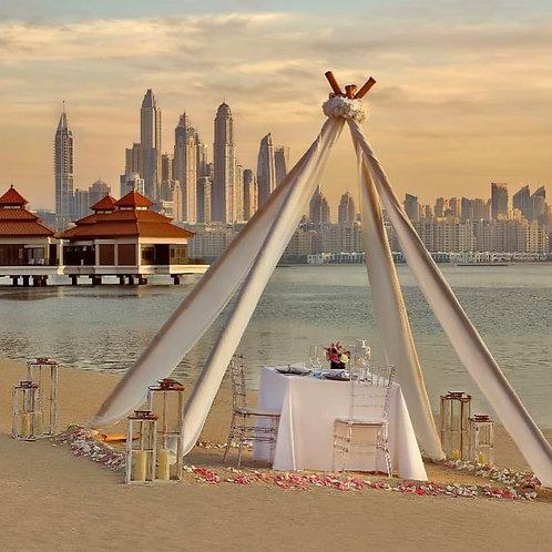 Demande en mariage à Dubai