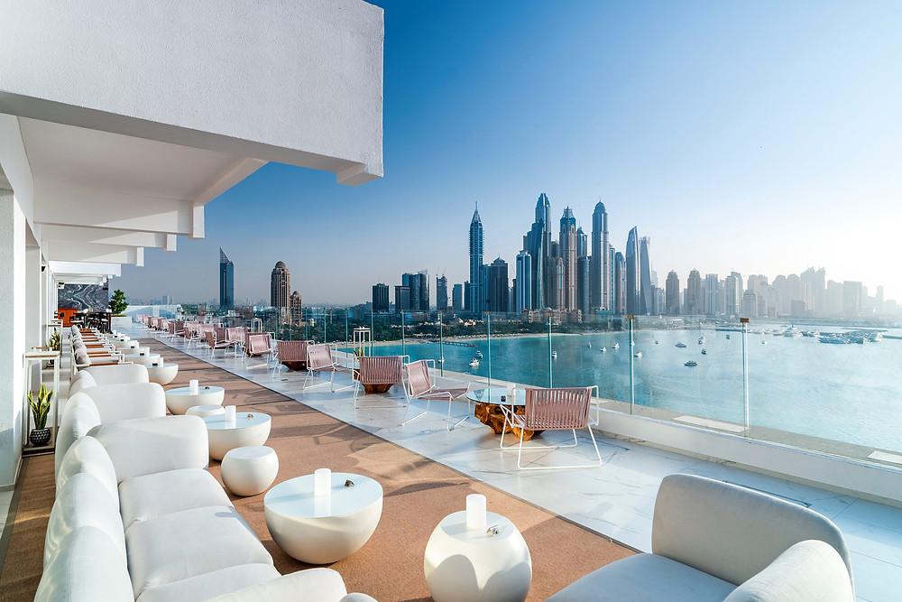 The penthouse Rooftop , Five palm dubai