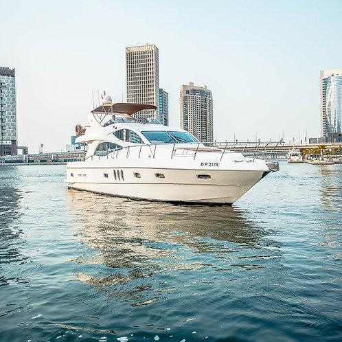 Location de yatch privé à Dubai 61ft