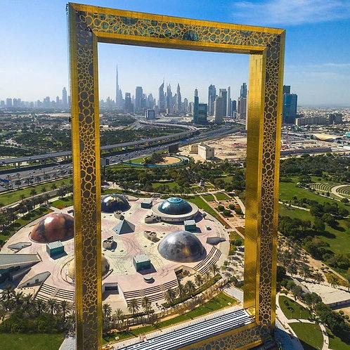 Visite de The Frame à Dubai
