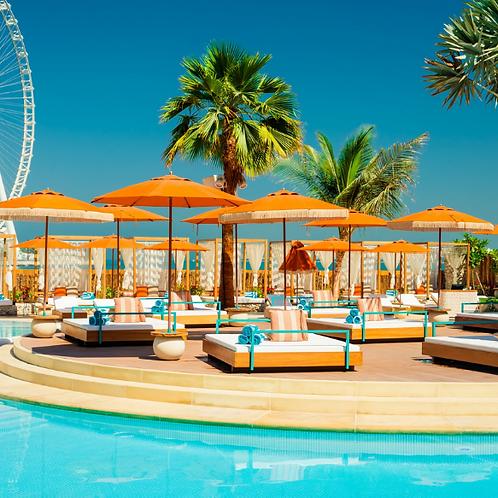 Journée à la piscine Blabla à Dubai