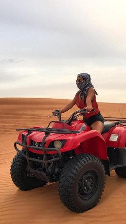 Session de Quad dans le désert