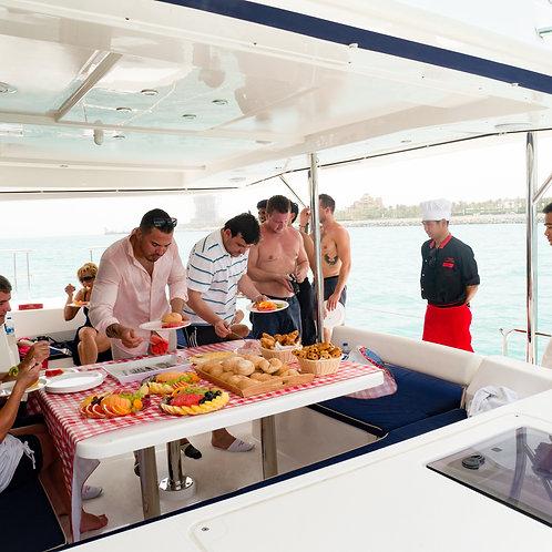 Croisière sur un yacht avec lunch