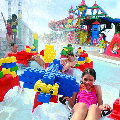 Entrée pour le Parc Legoland Waterpark à Dubai