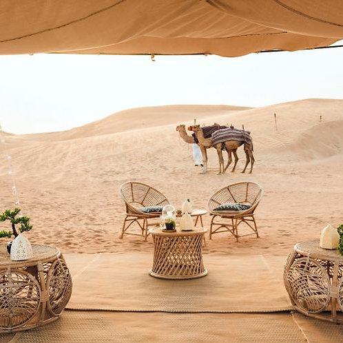Sunset chic dans le désert de Dubai avec Activités et boissons ...