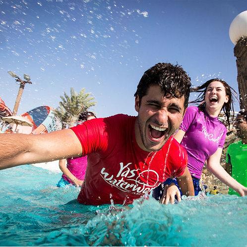 Entrée du Parc Yas Waterworld à Abu Dhabi