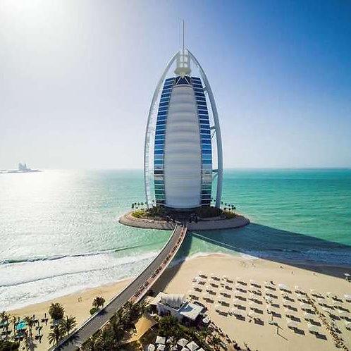 Journée à la Piscine du Burj Al Arab hôtel 7*