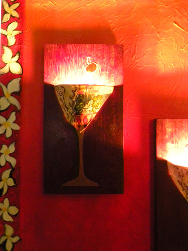 Martinis and Matisse Sconce