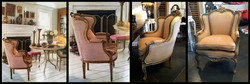 SOLD: Louis XV Style Armchair