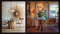 Mid-century Bamboo Table