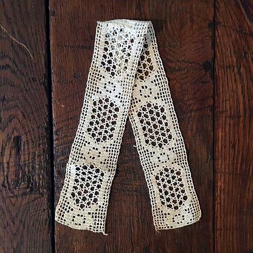 Vintage Crochet Lace Ribbon