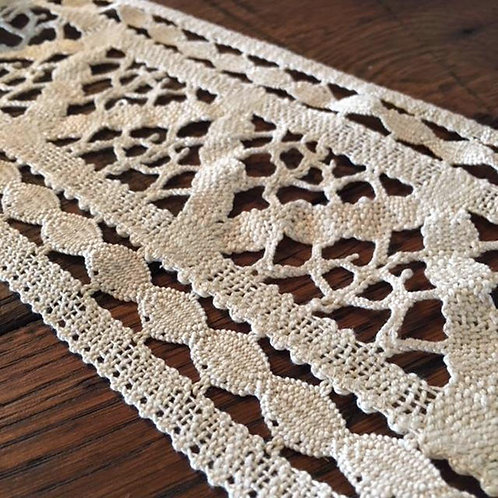 Antique Coarse Lace Trim