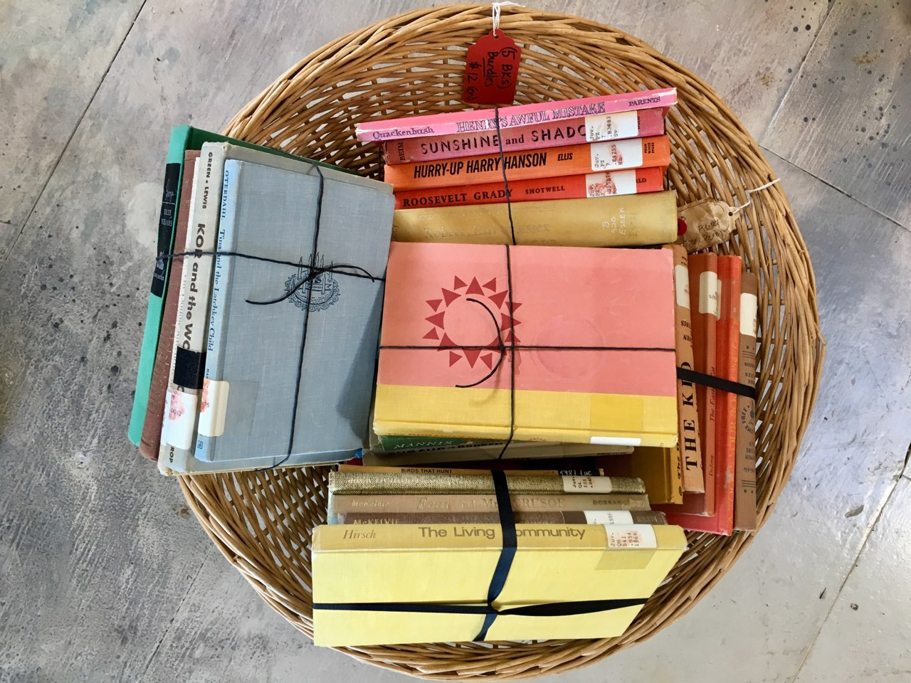 Mid-Century Book Bundles