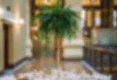 Mississauga florist Paris Floral Designs centerpieces at wedding reception