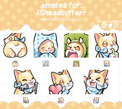shea emotes