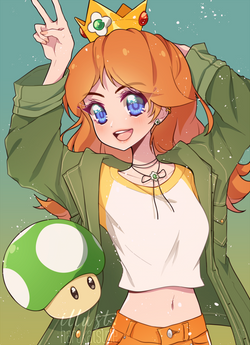 1UP Girl Daisy