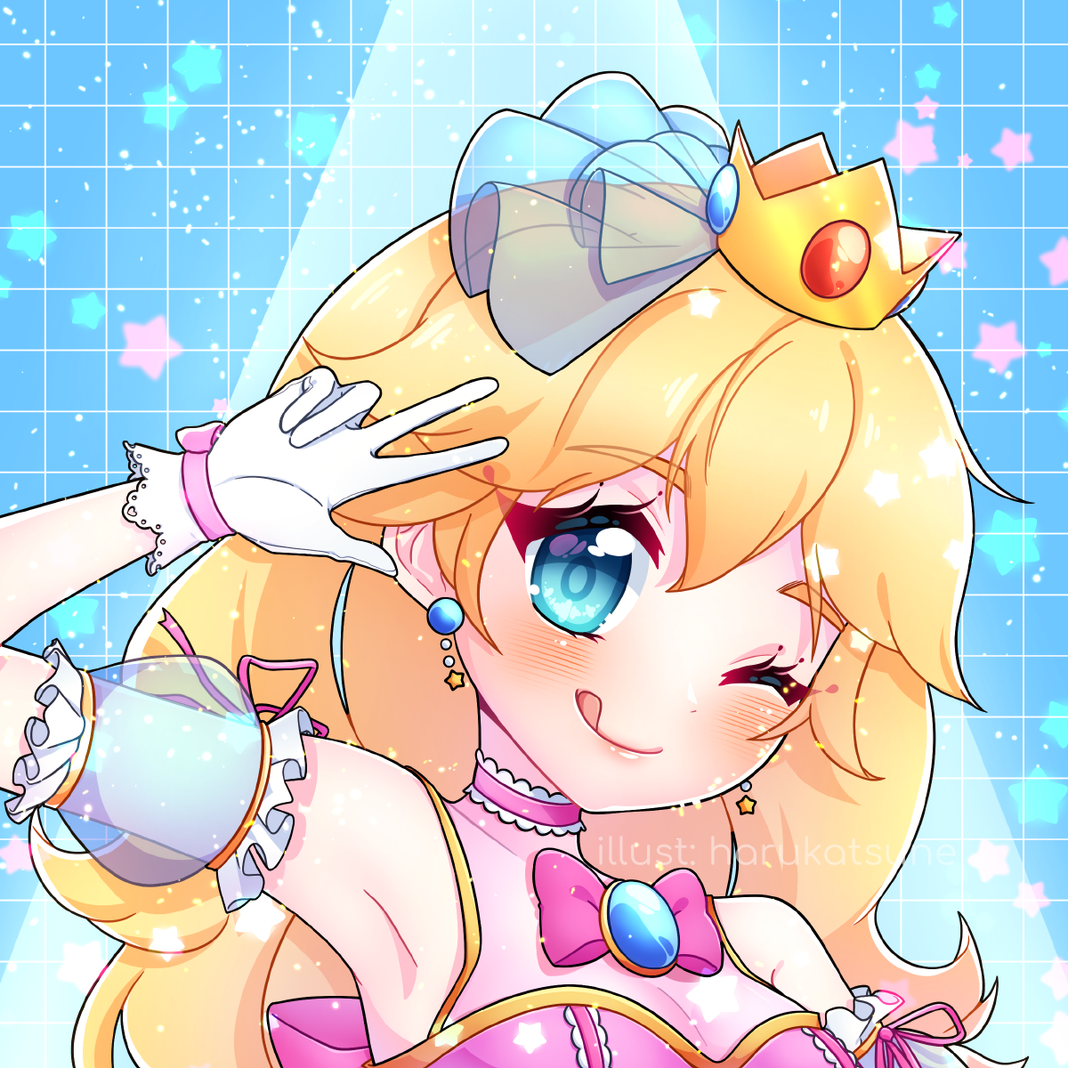 smash x idol: peach