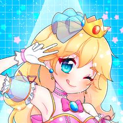 smash x idol: peach