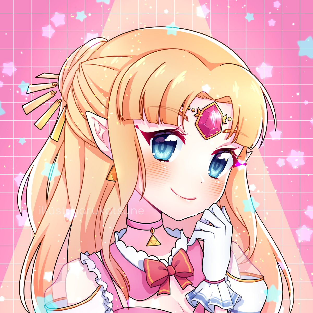 smash x idol: zelda