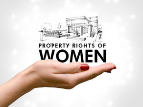 DEMOLISHING GENDER INEQUALITY ON RIGHT TO PROPERTY