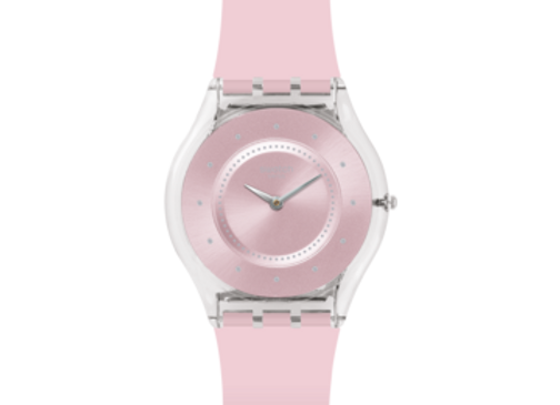 SWATCH TIME TO SWATCH PINK PASTEL