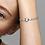 Thumbnail: Bracelet Maille Serpent Multi-Rangs Pandora Moments