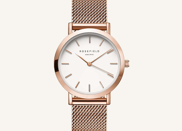 The Tribeca Blanc - D'or Rose 33mm