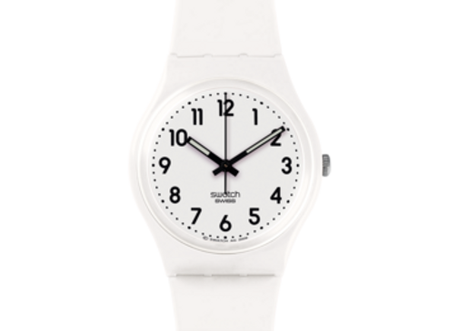 SWATCH NEW CORE JUST WHITE SOFT