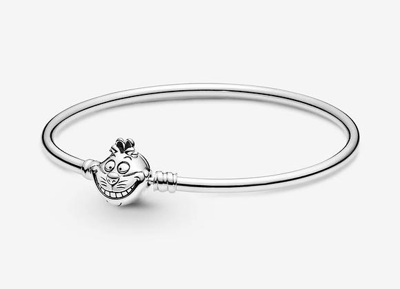Bracelet Jonc Disney Alice au Pays des Merveilles Fermoir Chat du Cheshire Pando