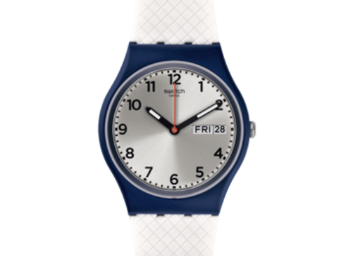 SWATCH TECH-MODE WHITE DELIGHT