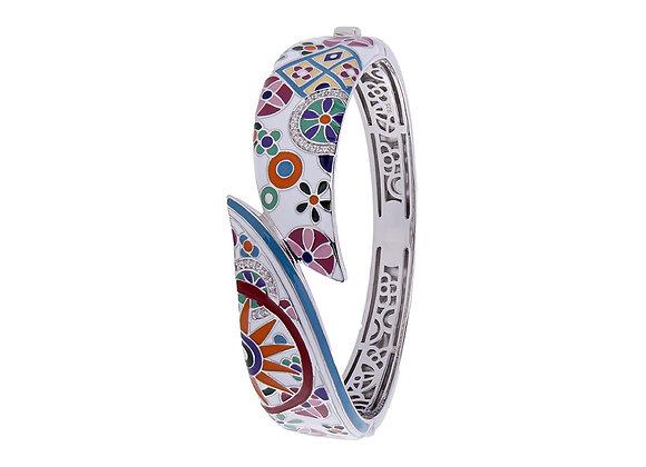 Bracelet Rigide Fleurs