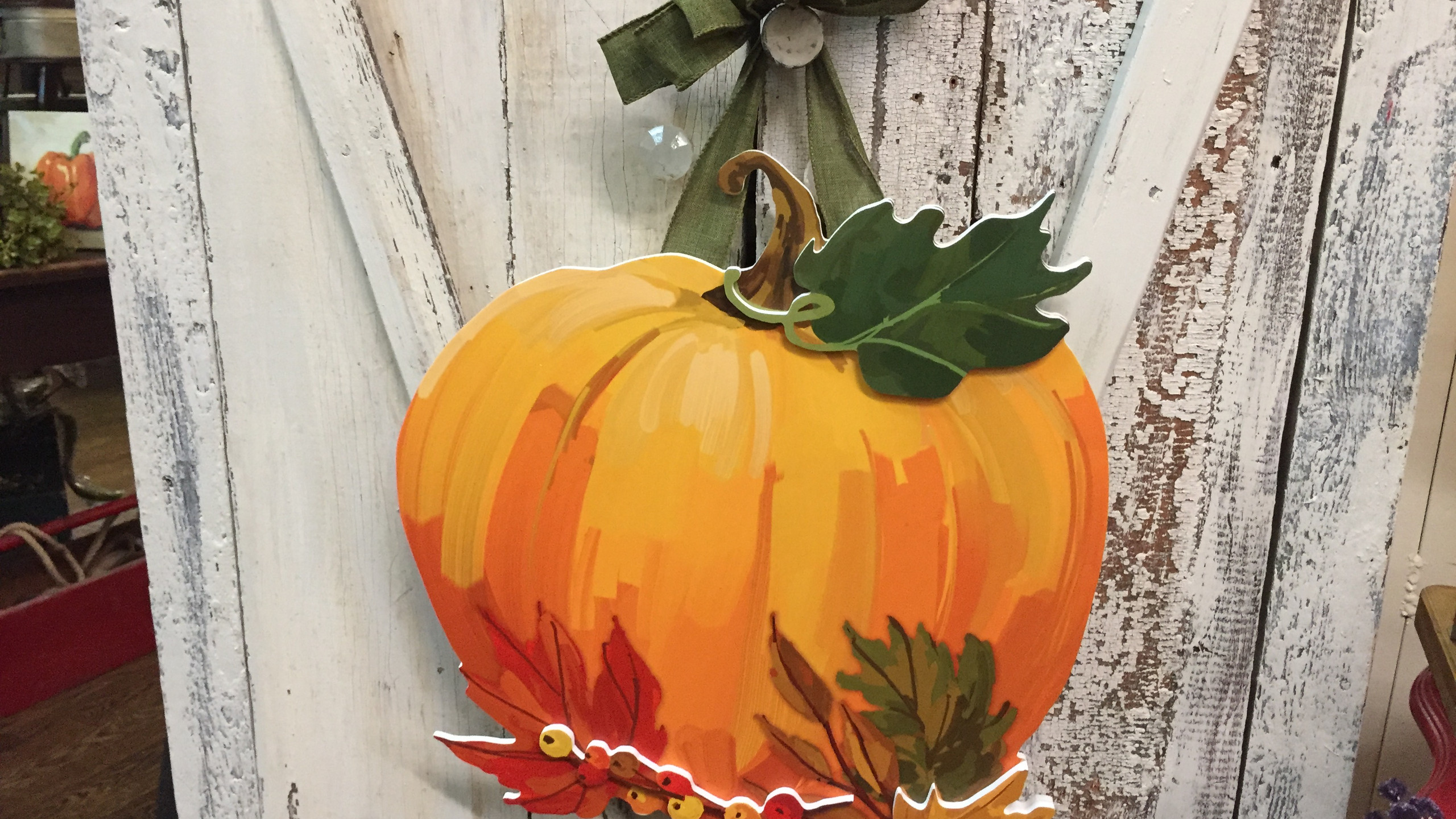 Spruce Up Your Door For Fall