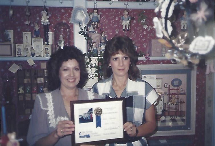 Linda Hinton and Babbie Harris