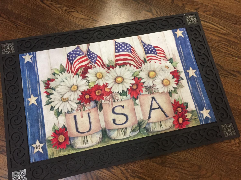 USA Door Mat