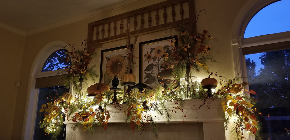 Fall on the Mantle