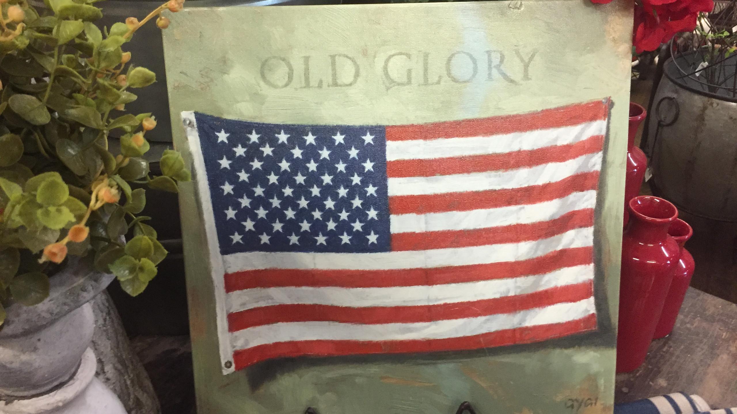 Old Glory Wall Art