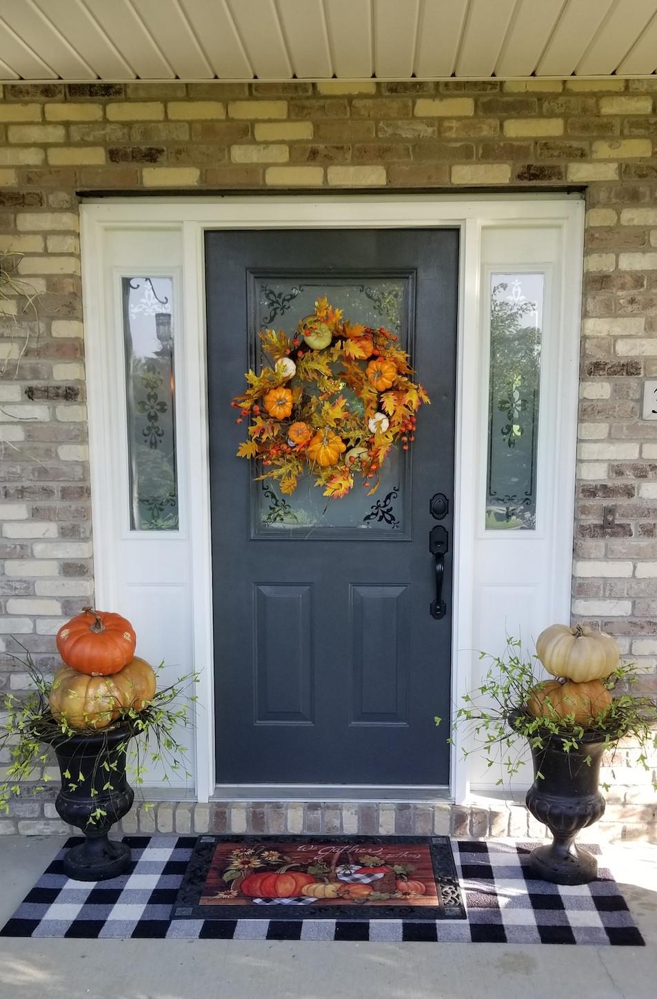 Fall Decor, Front Door