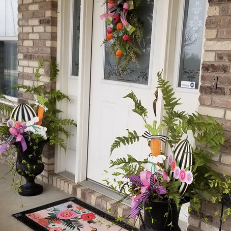 Front Porch Inspiration for Spring