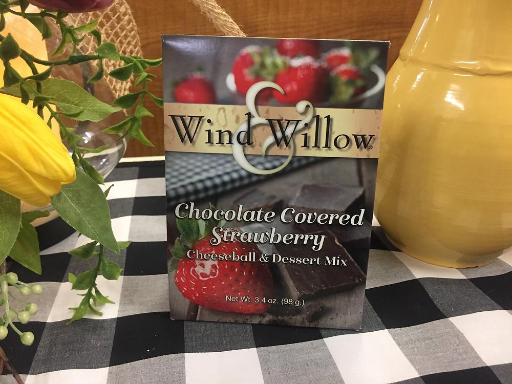 Wind & Willow Chocolate Covered Strawberry Cheeseball Mix