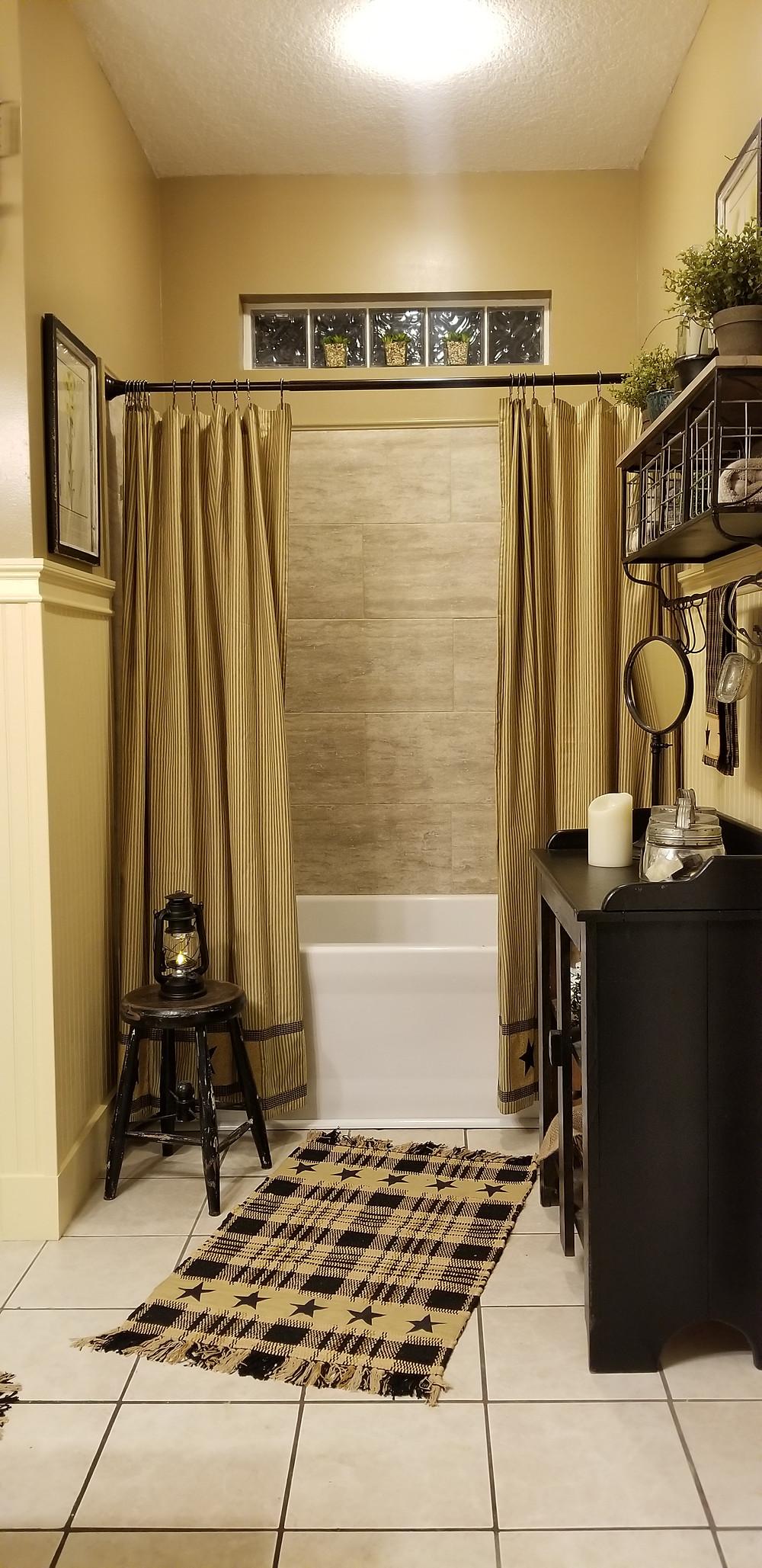 Bathroom Makeover, the Shower