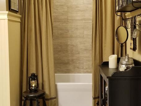 Queen Bee Bathroom Makeover