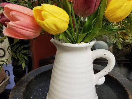 """Pitcher"" Perfect for Spring"