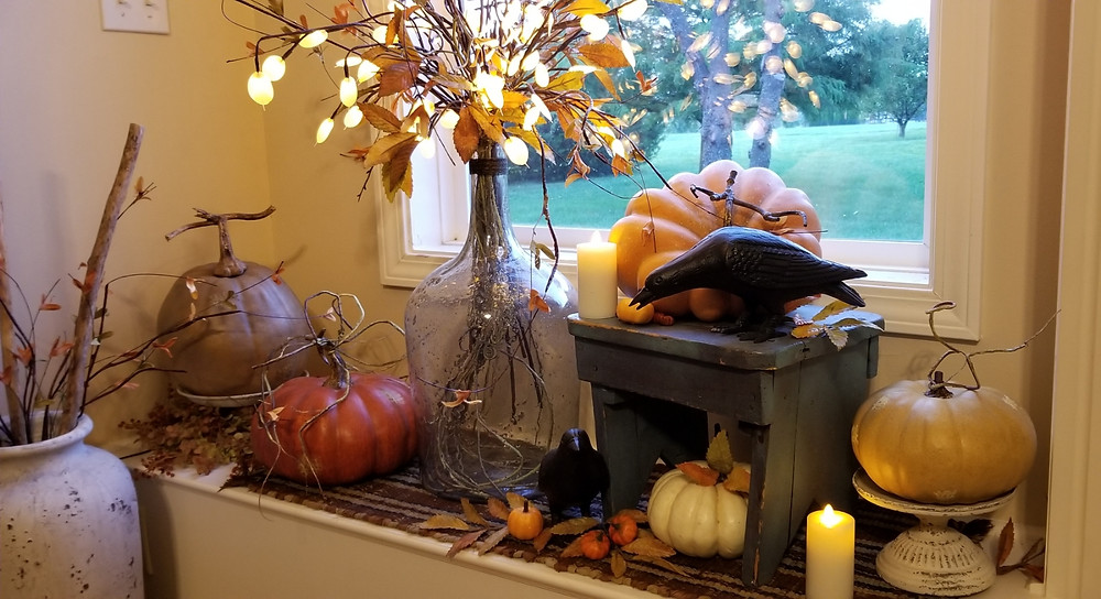 Fall Window Seat
