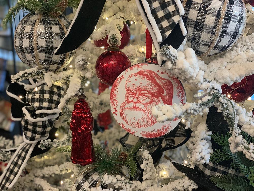 Country Christmas with Buffalo Check