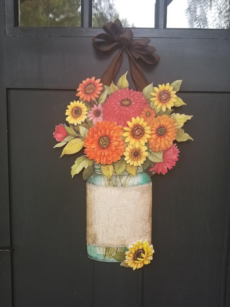 Autumn Artful Door Personality