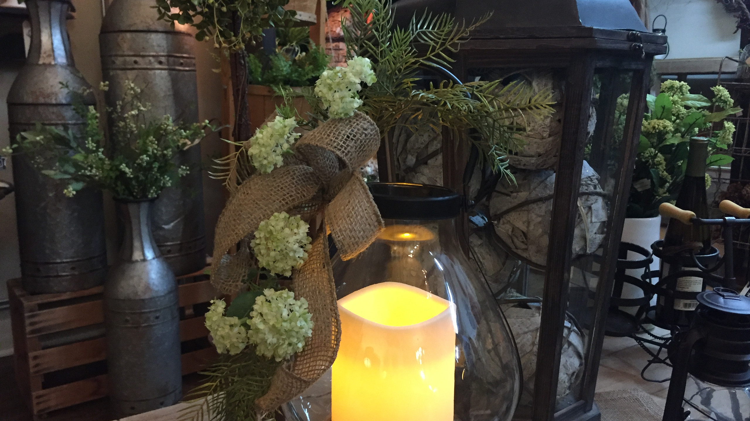 Spring Stems & Lanterns