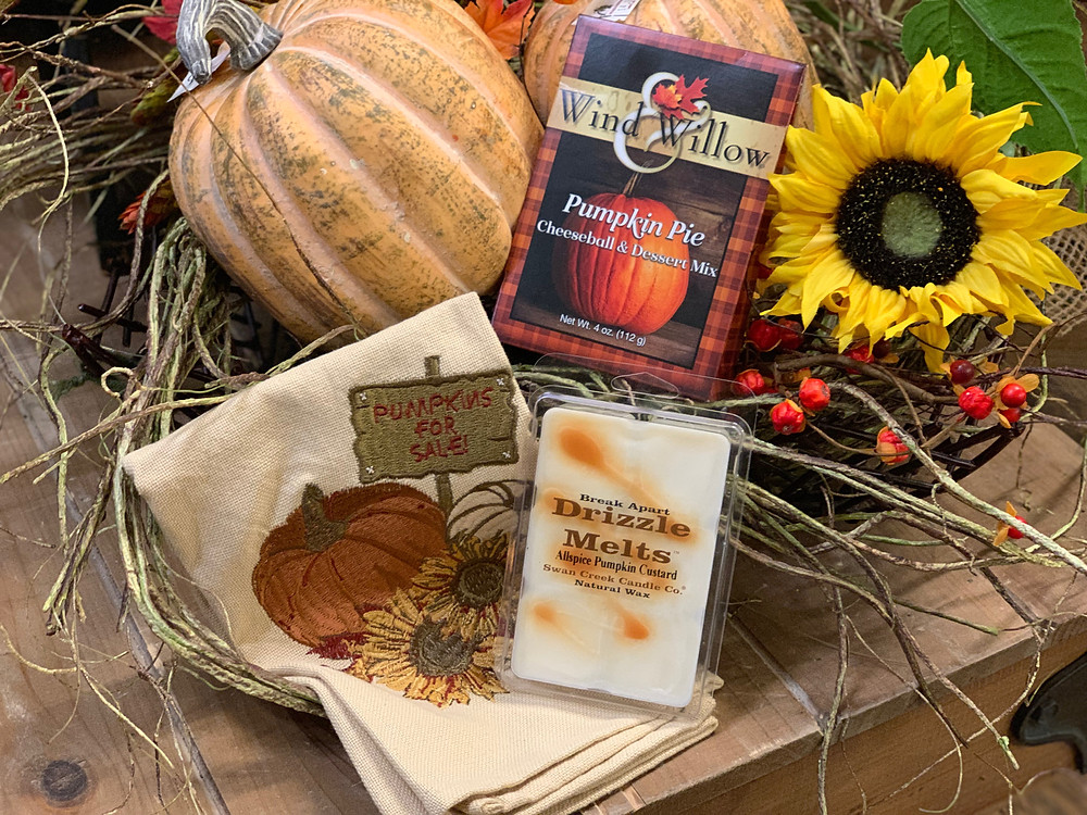 Pumpkin Fall Goodies & Gift Basket