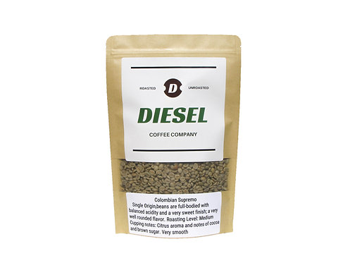 Colombian Supremo-Unroasted-3/5Lb Free Shipping