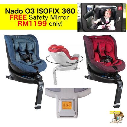Nado O3 I-Size 360 Spin