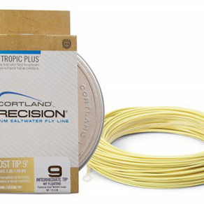 CORTLAND PRECISION TROPIC PLUS GHOST TIP FLY LINE